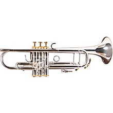 1602S Professional Series Bb Trumpet 1602RS Silver - Rose Brass Bell