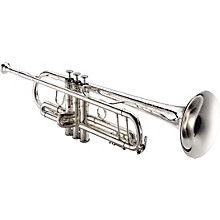1604S Professional Series Bb Trumpet 1604S Silver - Yellow Brass Bell