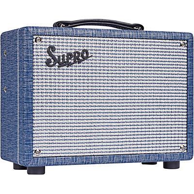 Supro 1605RJ 64 Reverb 5W 1x8 Tube Guitar Combo Amp