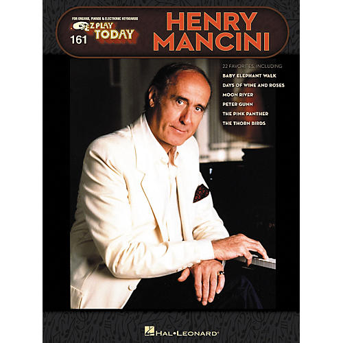 Hal Leonard 161 Henry Mancini - E-Z Play Today Songbook