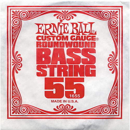 Ernie Ball 1655 Single Bass Guitar String