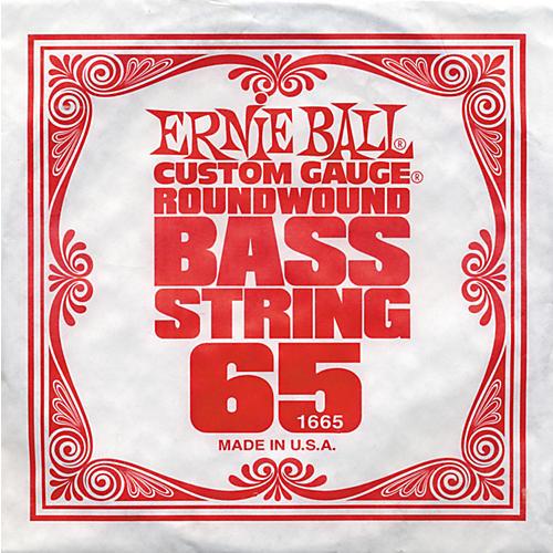 Ernie Ball 1665 Single Bass Guitar String