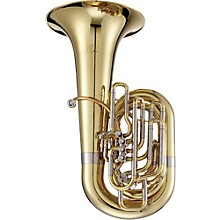 1680 Professional Series 5-Valve 4/4 CC Tuba Lacquer Yellow Brass Bell