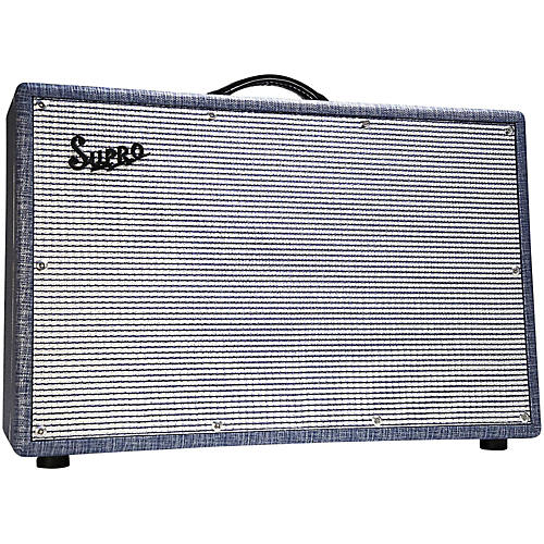 supro 1688t big star 25w 2x12 tube guitar combo amp musician 39 s friend. Black Bedroom Furniture Sets. Home Design Ideas