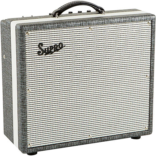 supro 1695t black magick 25w 1x12 tube guitar combo amp musician 39 s friend. Black Bedroom Furniture Sets. Home Design Ideas