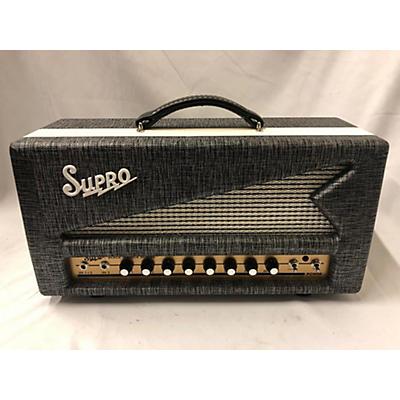 Supro 1696RT Black Magick Reverb Tube Guitar Amp Head