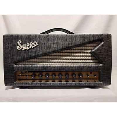Supro 1696RT Black Magik Reverb Tube Guitar Amp Head