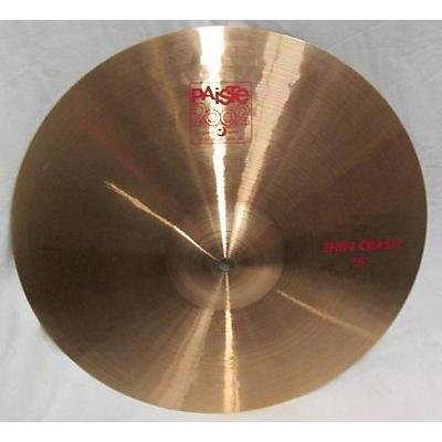 Paiste 16in 2002 Thin Crash Cymbal