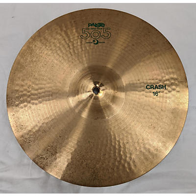 Paiste 16in 505 CRASH Cymbal