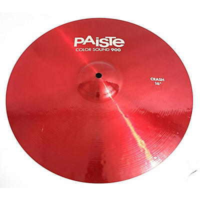 Paiste 16in 900 Series Color Sound Crash Cymbal