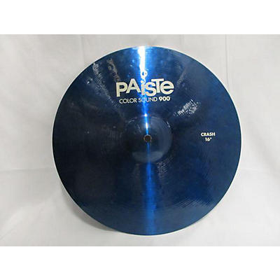 Paiste 16in 900 Series Colorsound Crash Cymbal
