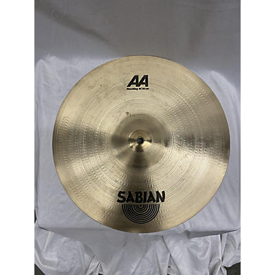 Sabian 16in AA Marching Band Crash Pair Brilliant Marching Cymbal