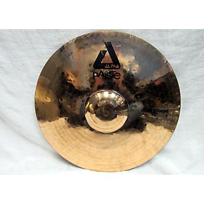 Paiste 16in Alpha Rock Crash Cymbal
