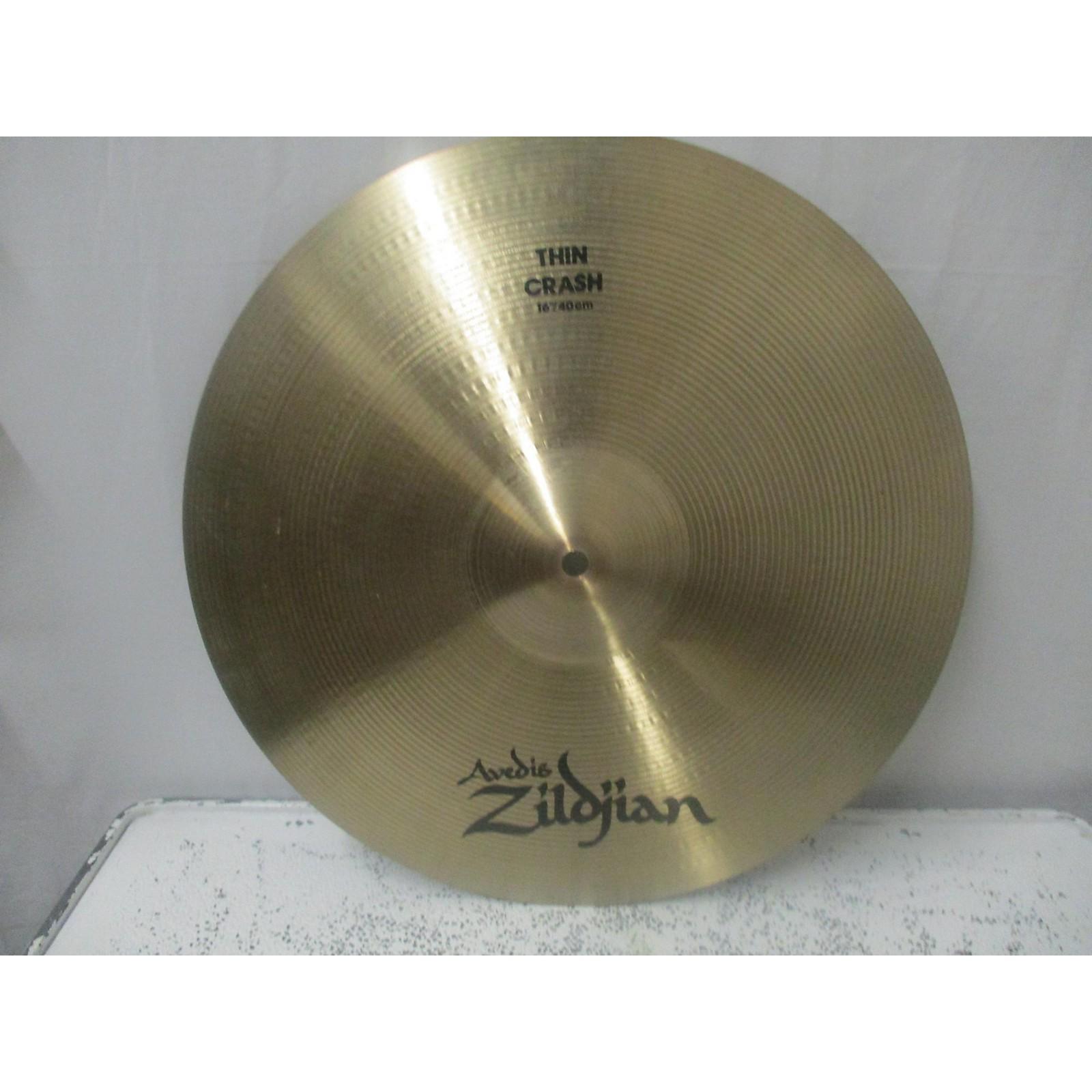Zildjian 16in Avedis Thin Crash Cymbal