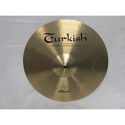 Turkish 16in CLASSIC Cymbal