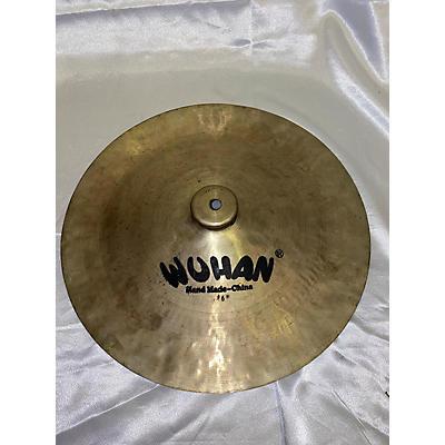 Wuhan Cymbals & Gongs 16in China Cymbal