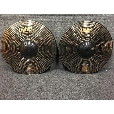 Meinl 16in Classic Custom Medium Hi Hat Pair Cymbal