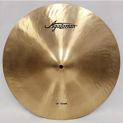 Agazarian 16in Crash Cymbal