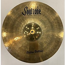 Soultone 16in Custom Brilliant RA Crash Cymbal