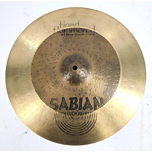 Sabian 16in Hh Duo Crash Cymbal 36