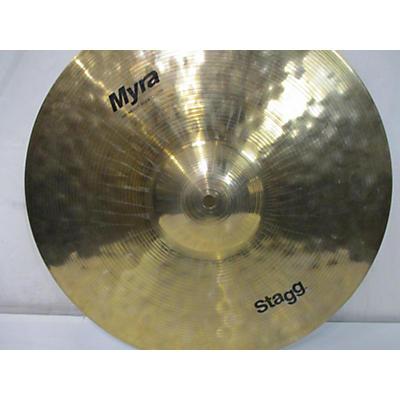 "Stagg 16in MYRA HEAVY ROCK CRASH 16"" Cymbal"