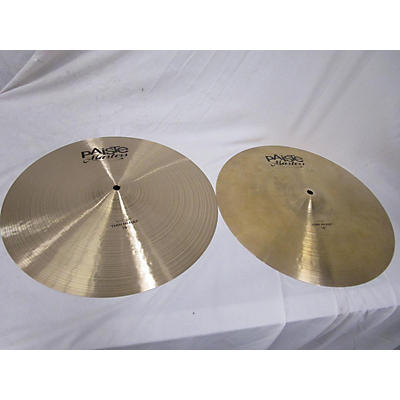 Paiste 16in Masters Thin Hi Hat Pair Cymbal