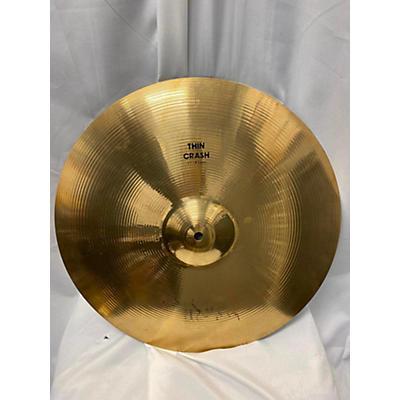 Zildjian 16in Medium Thin Crash Cymbal