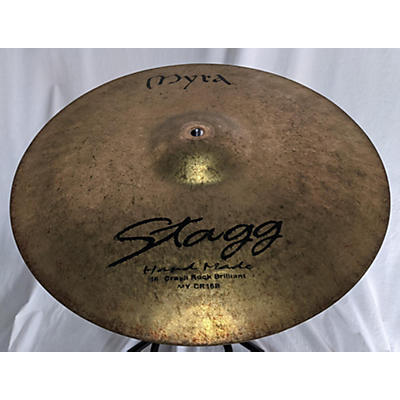 Stagg 16in Myra Crash Rock Brilliant Cymbal