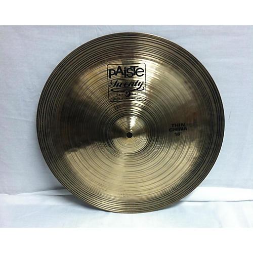 16in Twenty China Cymbal