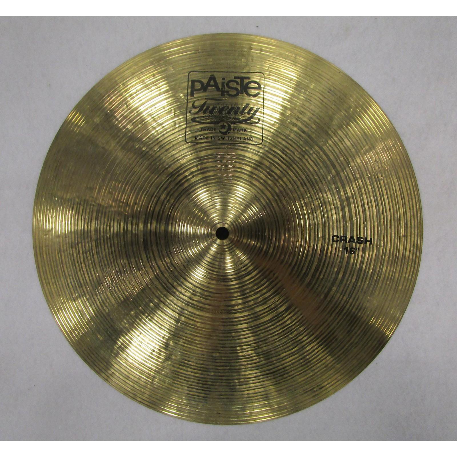 Paiste 16in Twenty Series Crash Cymbal