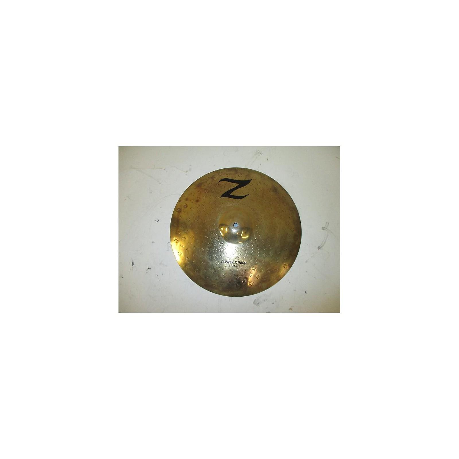 Zildjian 16in Z POWER CRASH Cymbal