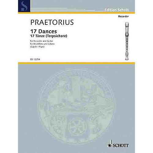 Schott 17 Dances Schott Series Composed by Michael Praetorius
