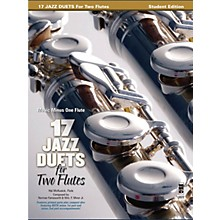 Music Minus One 17 Duets for Two Flutes Music Minus One Series Softcover with CD