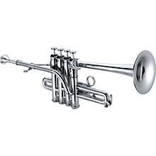 1700S Professional Series Bb / A Piccolo Trumpet Silver Rose Brass Bell