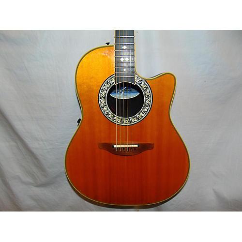 Ovation 1767 Legend USA Acoustic Electric Guitar Natural
