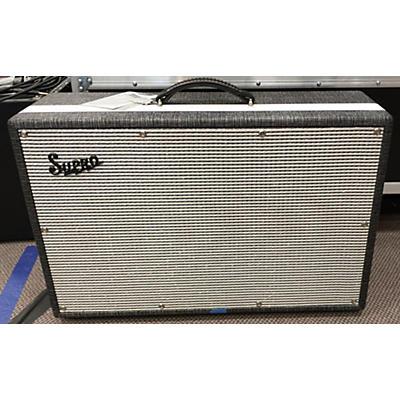 Supro 1799 BLACK MAGICK 2X12 Guitar Cabinet