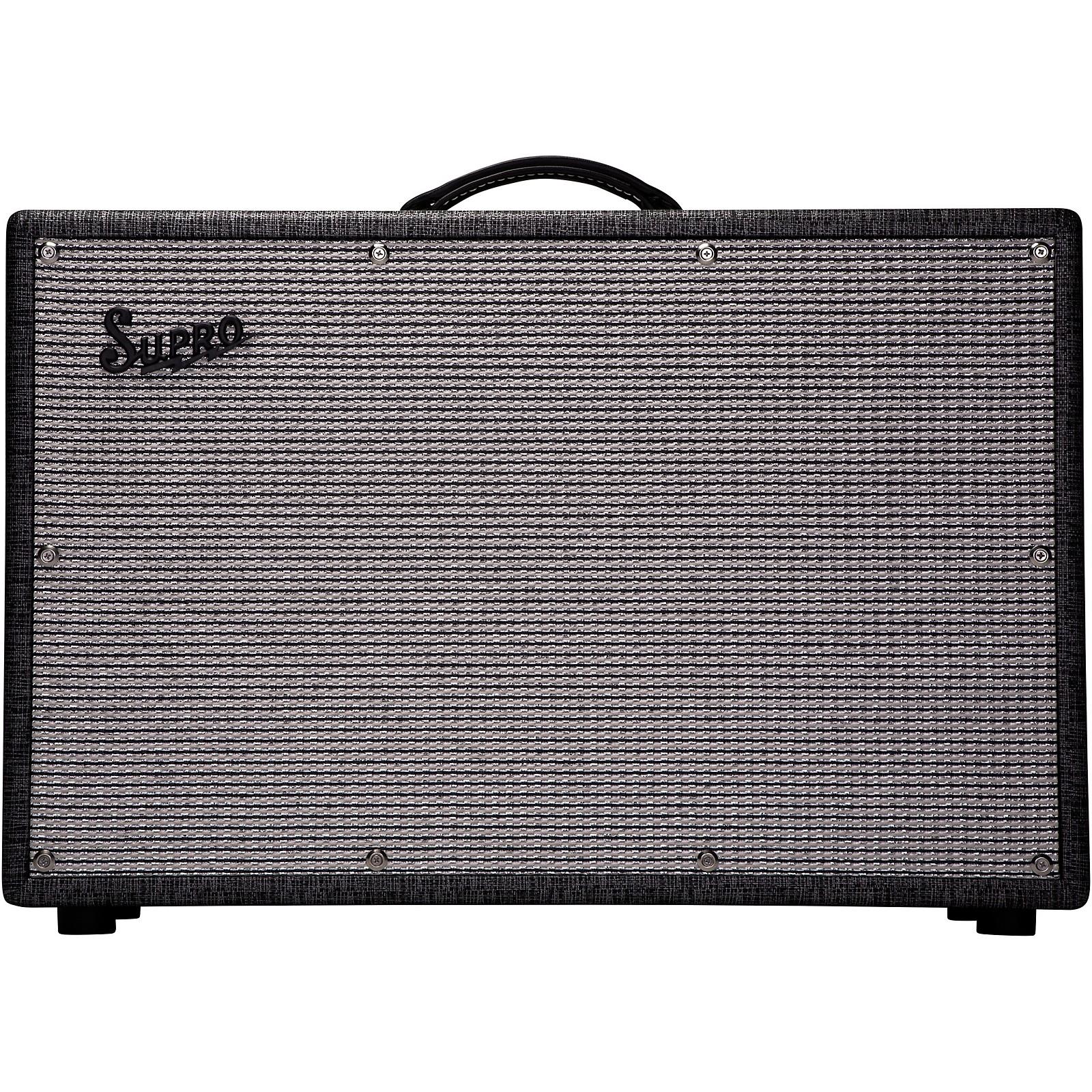 Supro 1799 Statesman 150W 2x12 Guitar Extension Speaker Cabinet