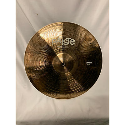 Paiste 17in 900 SERIES CRASH Cymbal