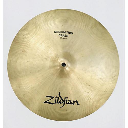 Zildjian 17in A Series Medium Thin Crash Cymbal 37
