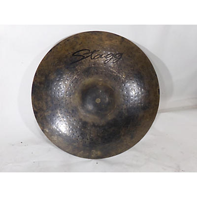 Stagg 17in BLACK METAL CRASH Cymbal