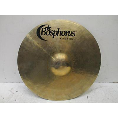 Bosphorus Cymbals 17in Gold Full Crash Cymbal