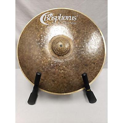 Bosphorus Cymbals 17in Turk Series Thin Crash Cymbal