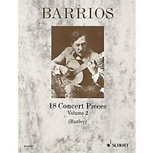 Schott 18 Concert Pieces for Solo Guitar - Volume 2 Schott Series