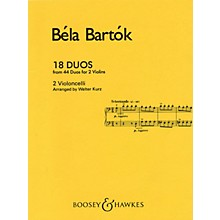 Boosey and Hawkes 18 Duos (Cello Duet) Boosey & Hawkes Chamber Music Series