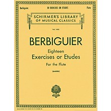 G. Schirmer 18 Exercises or Etudes (Flute)