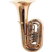 186-4U Series 4-Valve 4/4 BBb Tuba 186-4V Gold Brass 4 Valve Nickel-Silver Slides