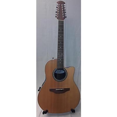 Ovation 1861AX-5 Standard Balladeer Acoustic Electric Guitar