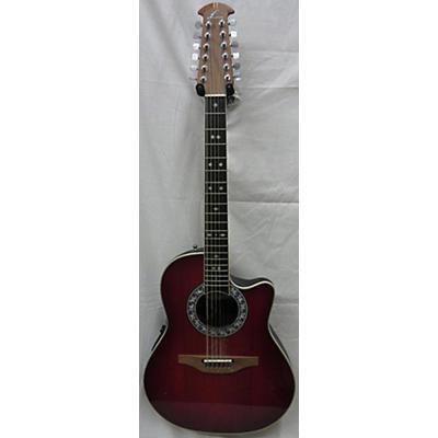 Ovation 1866 Legend 12 String Acoustic Electric Guitar