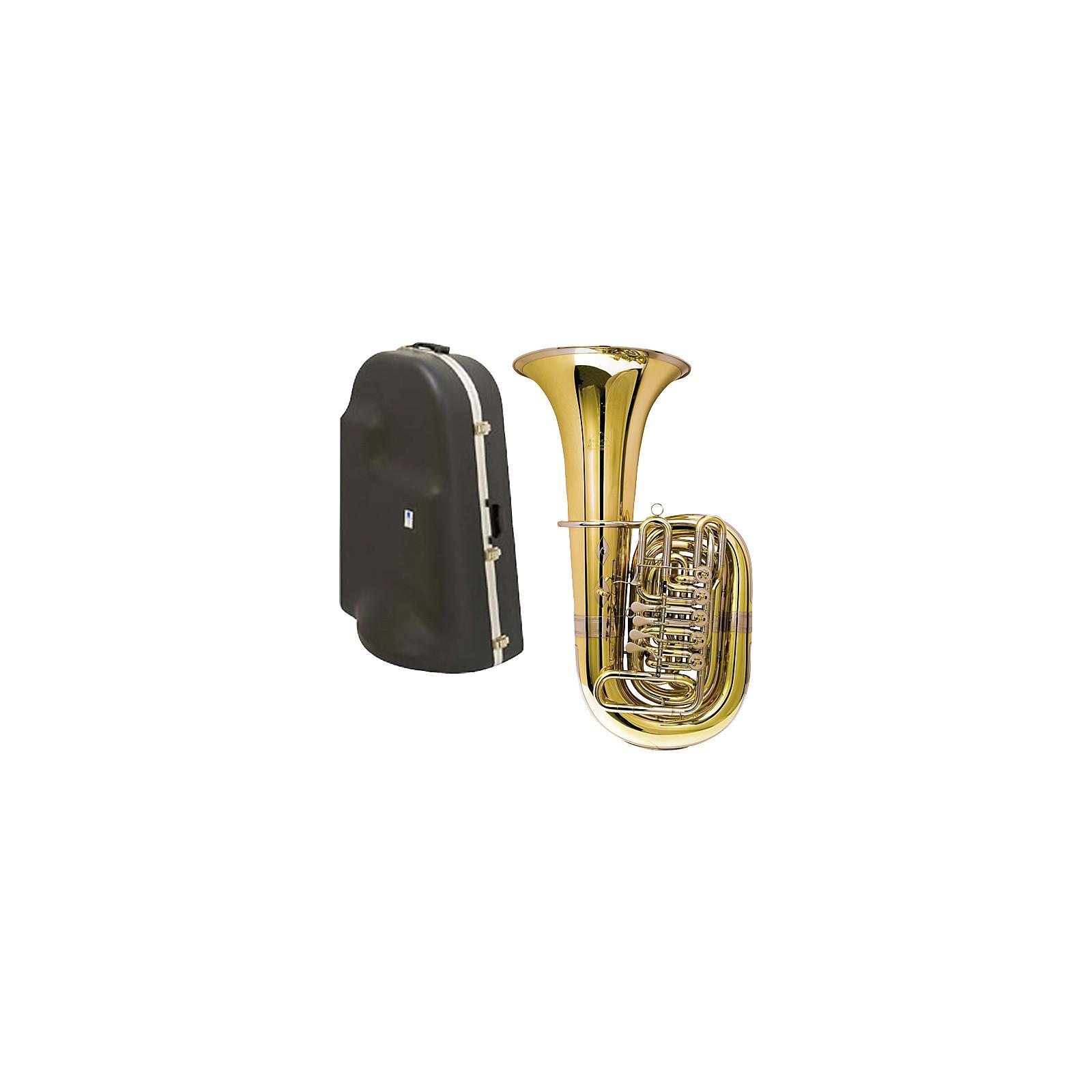 Miraphone 188-5U Series 5-Valve CC Tuba with Hard Case