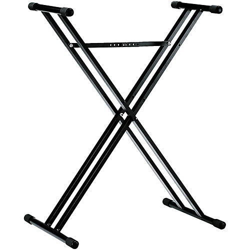 K&M 18963.071.55 X-Style Double Braced Keyboard Stand